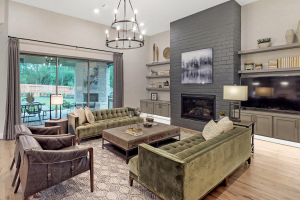 M/I Homes at Woodtrace Living Room
