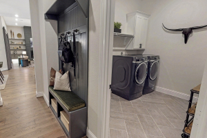 M/I Homes at Woodtrace Laundry Room