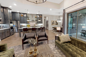 M/I Homes at Woodtrace Living Room/Kitchen