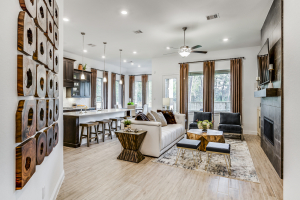 Village Builders at Woodtrace Living/Kitchen