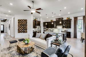 Village Builders at Woodtrace Living Room