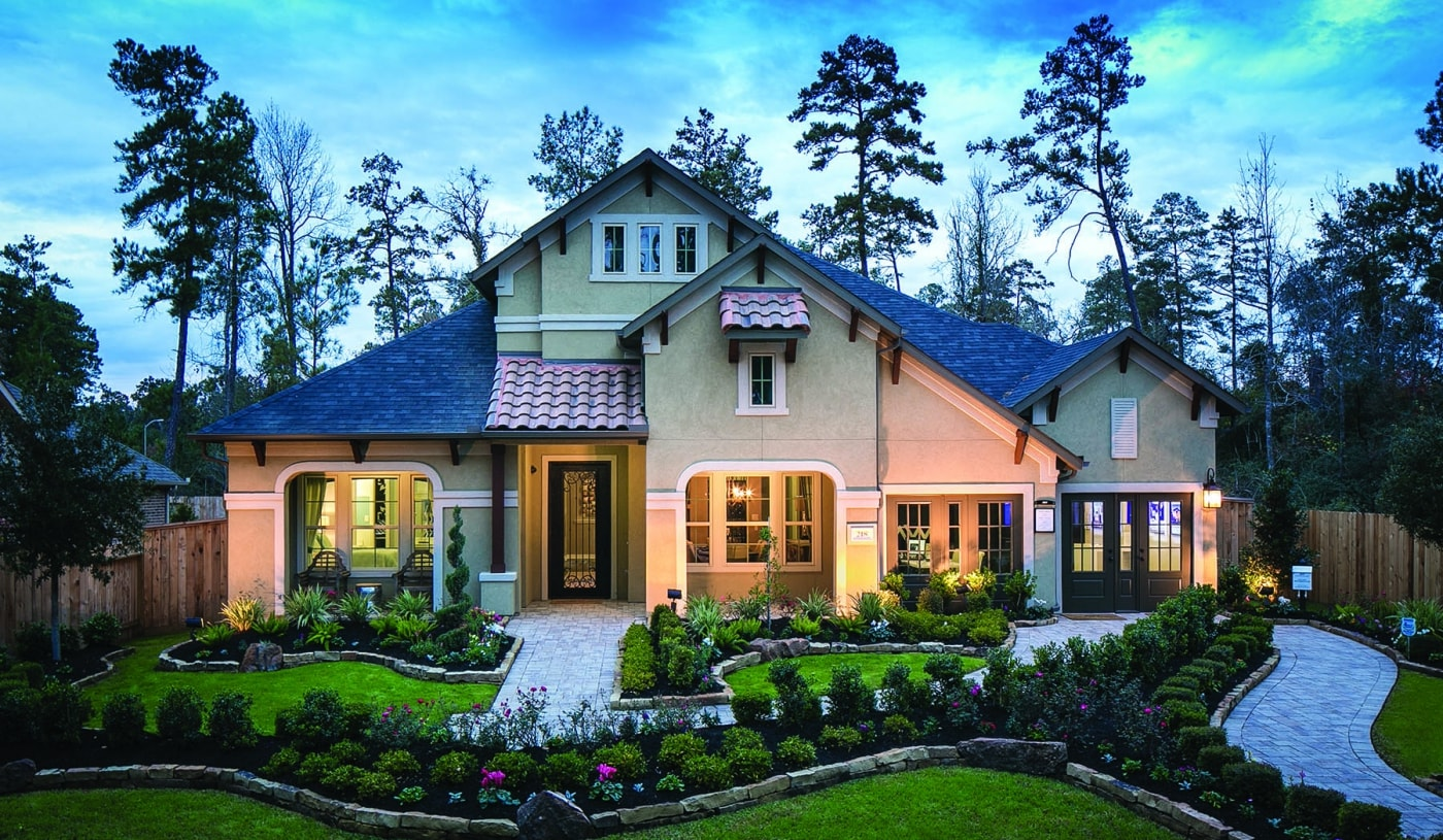 Builder Model Home In Woodtrace