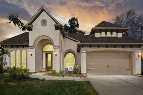 J. Patrick Homes Model Home in Woodtrace